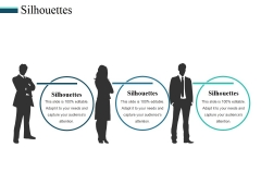 Silhouettes Ppt PowerPoint Presentation Icon Background Designs