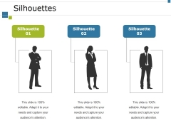 Silhouettes Ppt PowerPoint Presentation Icon Samples