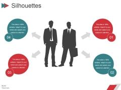 Silhouettes Ppt PowerPoint Presentation Ideas Elements