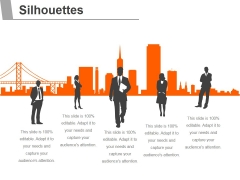 Silhouettes Ppt PowerPoint Presentation Inspiration Inspiration
