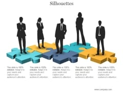 Silhouettes Ppt PowerPoint Presentation Introduction