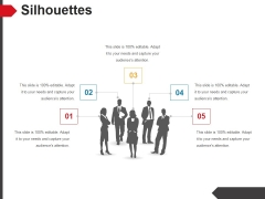Silhouettes Ppt PowerPoint Presentation Layouts Diagrams
