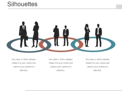 Silhouettes Ppt PowerPoint Presentation Layouts