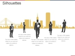 Silhouettes Ppt PowerPoint Presentation Outline Information