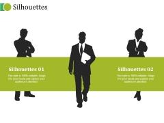 Silhouettes Ppt PowerPoint Presentation Outline Portrait