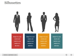 Silhouettes Ppt PowerPoint Presentation Outline