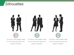 Silhouettes Ppt PowerPoint Presentation Professional Outline