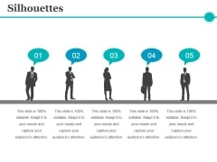 Silhouettes Ppt PowerPoint Presentation Summary Slide