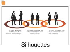 Silhouettes Risk Estimator Ppt PowerPoint Presentation Layouts Format Ideas
