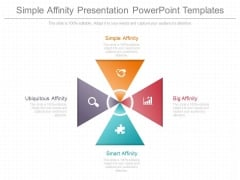 Simple Affinity Presentation Powerpoint Templates