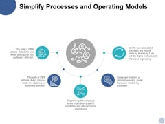 Simplify Processes And Operating Models Ppt PowerPoint Presentation Infographic Template Shapes