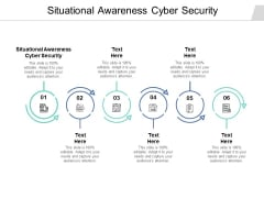 Situational Awareness Cyber Security Ppt PowerPoint Presentation Model Influencers Cpb
