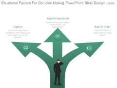 Situational Factors For Decision Making Powerpoint Slide Design Ideas