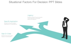 Situational Factors For Decision Ppt Slides