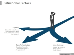 Situational Factors Ppt PowerPoint Presentation Example