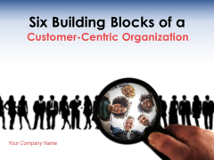 Six Building Blocks Of Customer Centric Organization Ppt PowerPoint Presentation Complete Deck