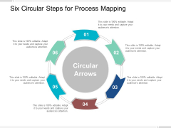 Six Circular Steps For Process Mapping Ppt Powerpoint Presentation Infographic Template Icon