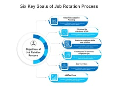Six Key Goals Of Job Rotation Process Ppt PowerPoint Presentation Icon Infographics PDF