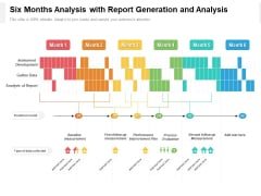 Six Months Analysis With Report Generation And Analysis Professional