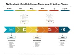 Six Months Artificial Intelligence Roadmap With Multiple Phases Themes