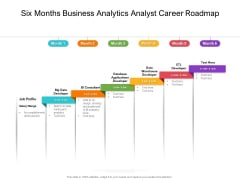 Six Months Business Analytics Analyst Career Roadmap Rules