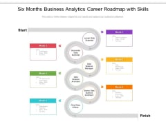 Six Months Business Analytics Career Roadmap With Skills Topics