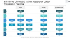 Six Months Commodity Market Researcher Career Progression Roadmap Ideas