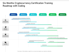 Six Months Cryptocurrency Certification Training Roadmap With Coding Pictures