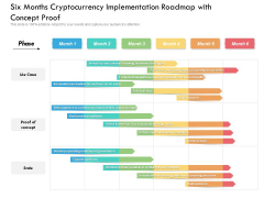 Six Months Cryptocurrency Implementation Roadmap With Concept Proof Rules