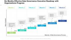 Six Months Effective Data Governance Execution Roadmap With Organizations Progress Professional
