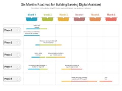 Six Months Roadmap For Building Banking Digital Assistant Demonstration