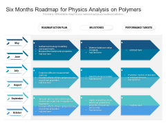 Six Months Roadmap For Physics Analysis On Polymers Professional
