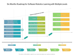 Six Months Roadmap For Software Robotics Learning With Multiple Levels Summary