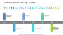 Six Months Set Up Planning Timeline Inspiration