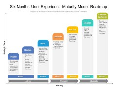 Six Months User Experience Maturity Model Roadmap Formats