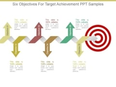 Six Objectives For Target Achievement Ppt Samples