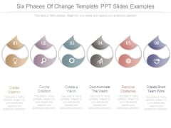 Six Phases Of Change Template Ppt Slides Examples