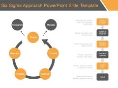 Six Sigma Approach Powerpoint Slide Template