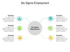 Six Sigma Employment Ppt PowerPoint Presentation Icon Deck Cpb
