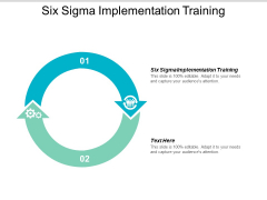 Six Sigma Implementation Training Ppt PowerPoint Presentation Portfolio Objects Cpb