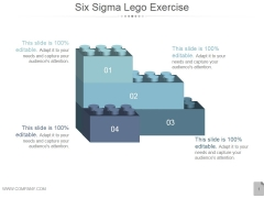 Six Sigma Lego Exercise Ppt PowerPoint Presentation Show