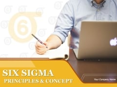 Six Sigma Principles And Concepts PowerPoint Presentation Complete Deck With Slides