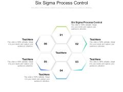 Six Sigma Process Control Ppt PowerPoint Presentation Show Topics Cpb