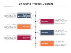 Six Sigma Process Diagram Ppt PowerPoint Presentation Inspiration Smartart Cpb Pdf