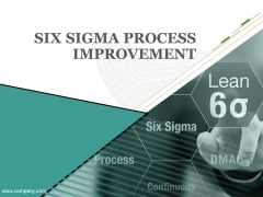 Six Sigma Process Improvment Ppt PowerPoint Presentation Complete Deck With Slides