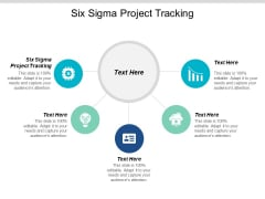 Six Sigma Project Tracking Ppt PowerPoint Presentation File Slides Cpb