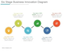 Six Stage Business Innovation Diagram Ppt PowerPoint Presentation Layout