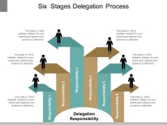 Six Stages Delegation Process Ppt PowerPoint Presentation Outline Outfit