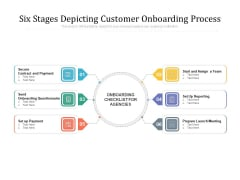 Six Stages Depicting Customer Onboarding Process Ppt PowerPoint Presentation Summary Layout PDF
