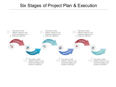 Six Stages Of Project Plan And Execution Ppt PowerPoint Presentation File Format Ideas